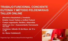Taller online TRABAJO FUNCIONAL CONCIENTE